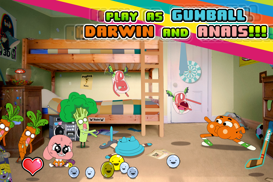 Mutant Fridge Mayhem - Gumball iPhone