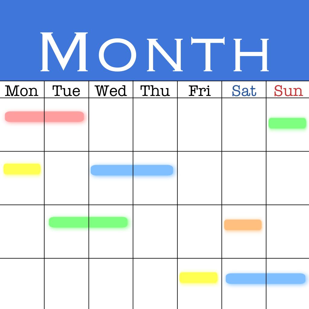 MonCal (月表示専用カレンダー)